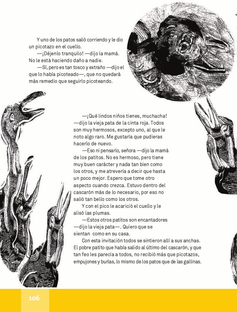 El Patito Feo - Español Lecturas 4to 2014-2015
