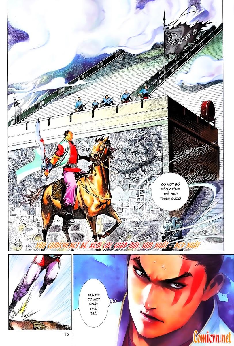 Phong Vân chap 644 Trang 13 - Mangak.info