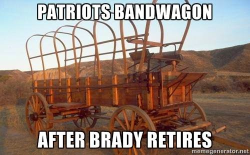 Patriots Bandwagon after Brady retires