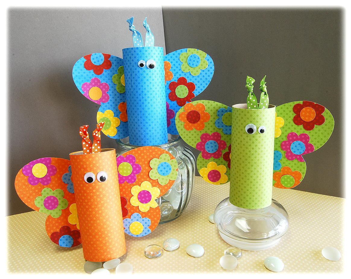 Spring Toilet Paper Roll Crafts for Kids