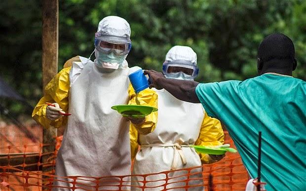 Vacinas Ebola corrida para a frente em ritmo recorde