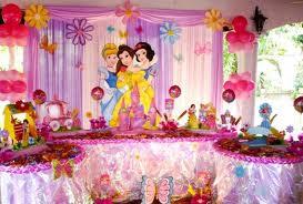DECORACIÓN CON TELAS Y GLOBOS CON LAS PRINCESAS decoracionesparafiestasinfantiles.blogspot.com/