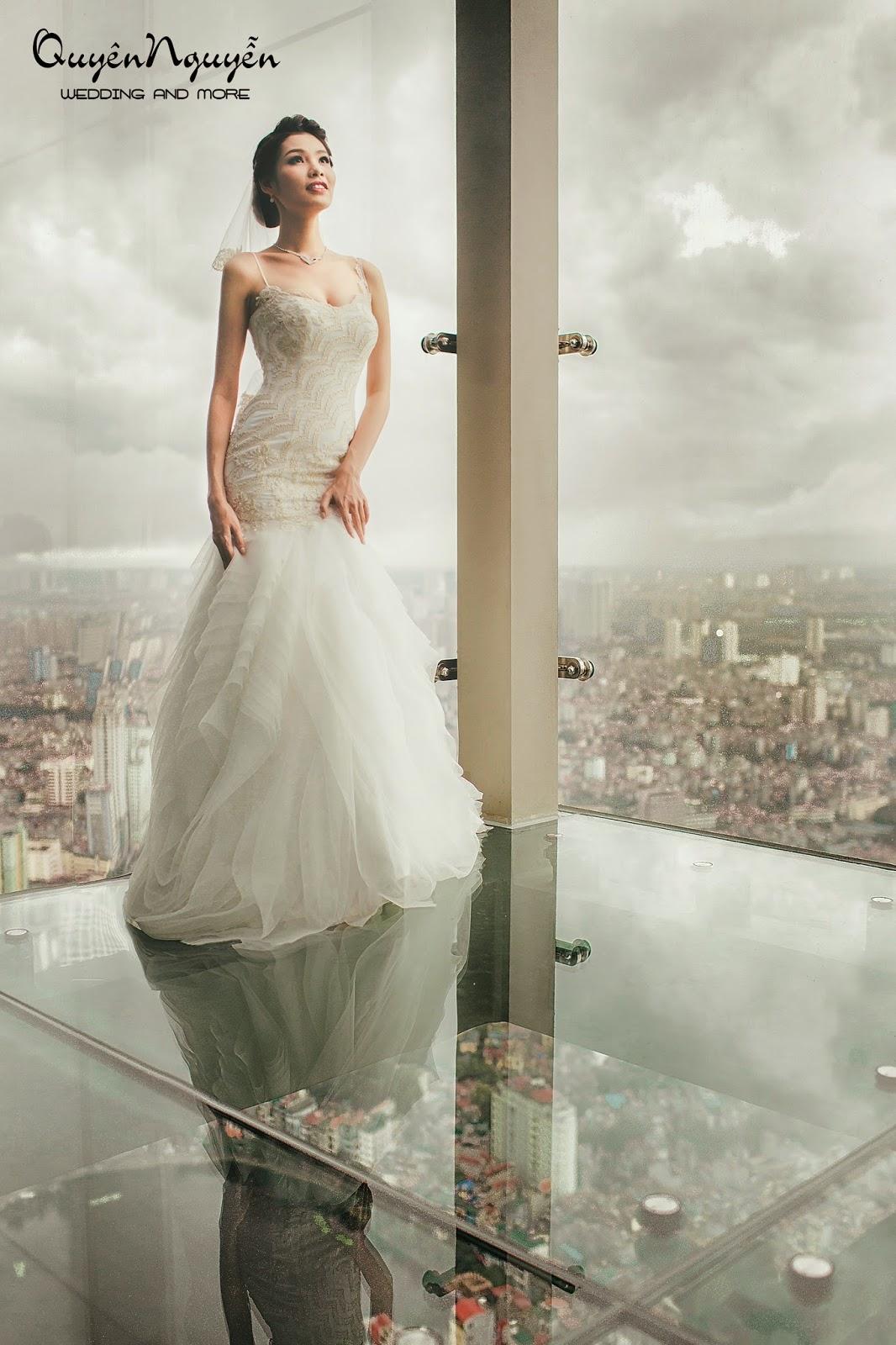Voucher miễn phí sử dụng váy cưới tại Quyên Nguyễn Bridal  trị giá 5.000.000 đồng