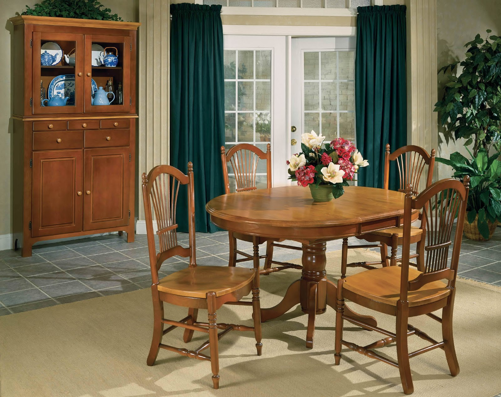 Beechbrook dining room set dining room unique dinette for Unusual dining furniture