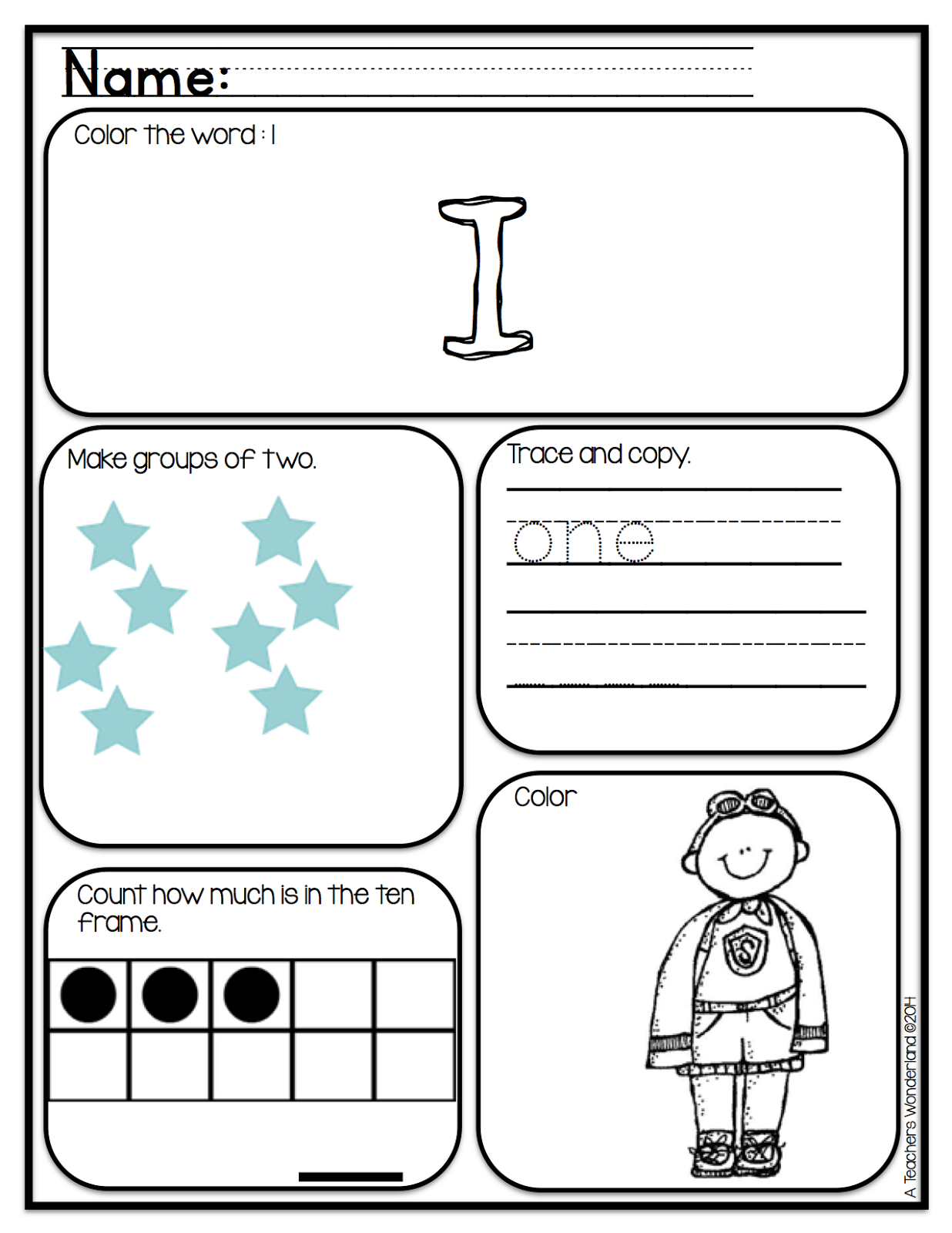 Worksheet Kindergarten School Work a teachers wonderland kindergarten morning work so i can find books and passages based around the theme first week is back to school students also practice their spelling of the