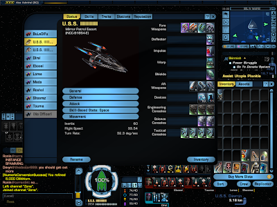 Star Trek Online - Starship Turn Rate