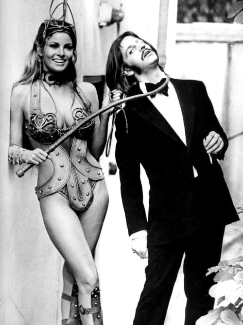 Raquel Welch y Ringo Star