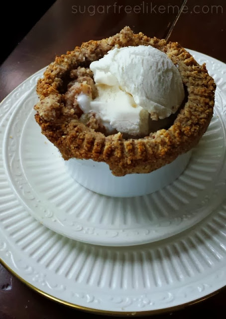 Low Sugar/Low Carb Apple Pie