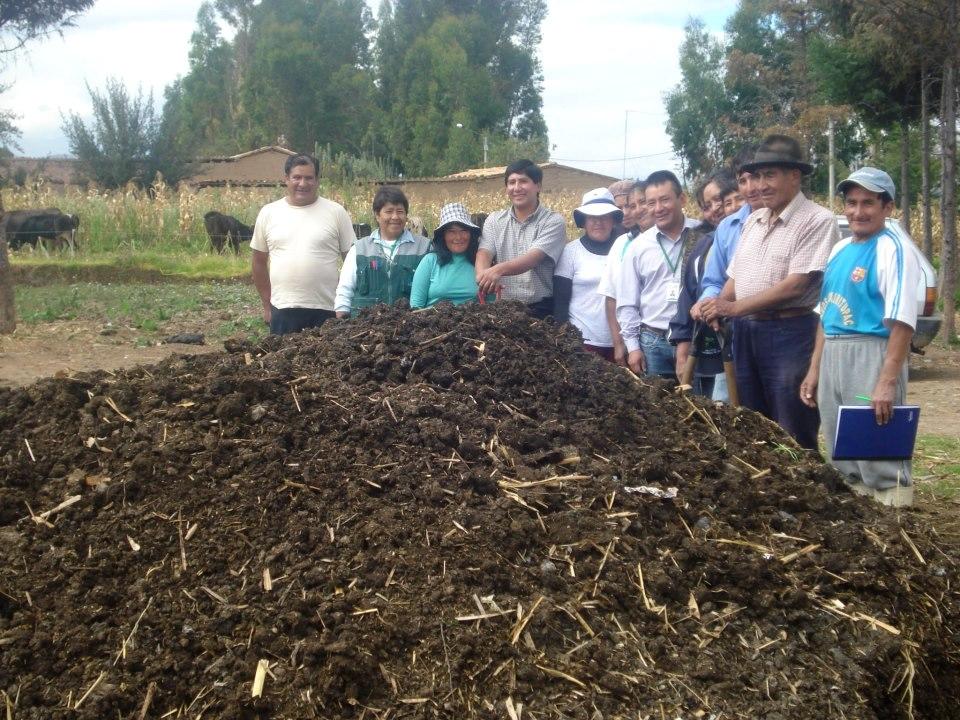 Agro jun n agencia agraria concepci n promueve producci n - Hacer abono organico ...