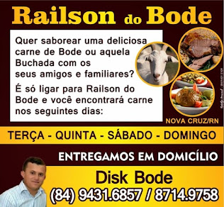 RAILSON DO BODE! (84) 99431 6857