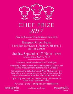 Chef Prize 2017