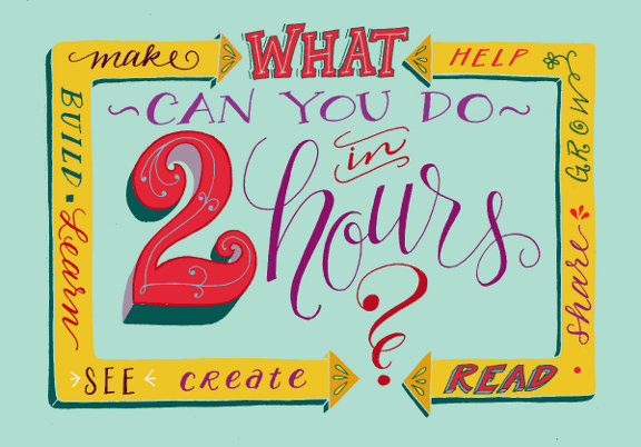 Lettering Lately blog > Snow Day