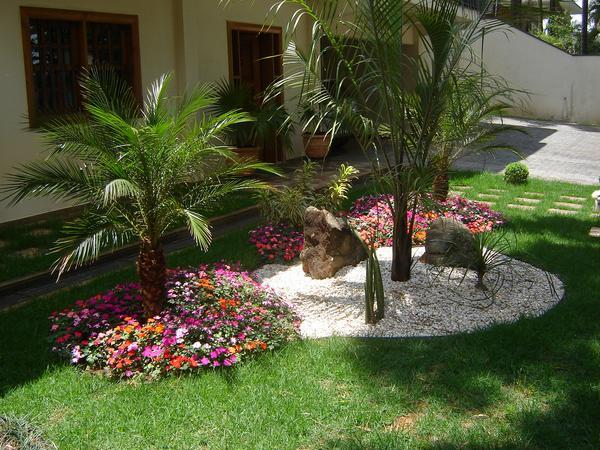 flores jardins e paisagismo