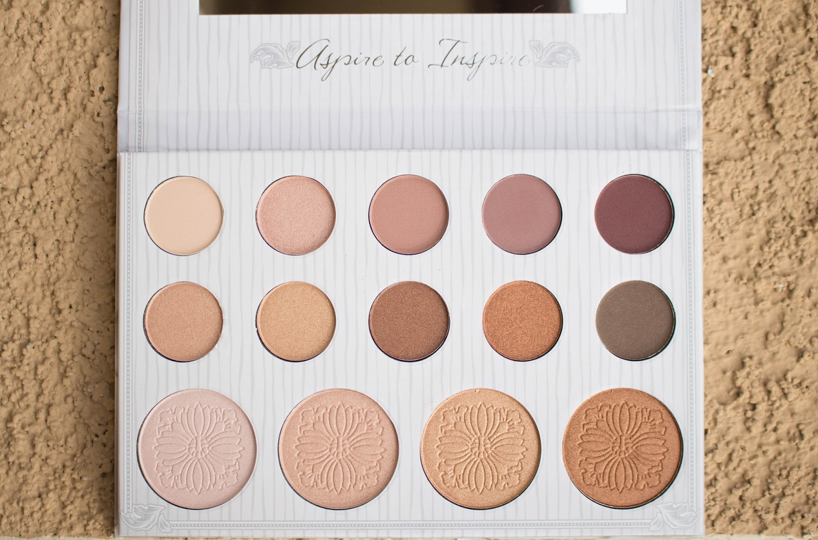 BH Cosmetics Nude Blush 10 Color Palette Pink Rose Brown