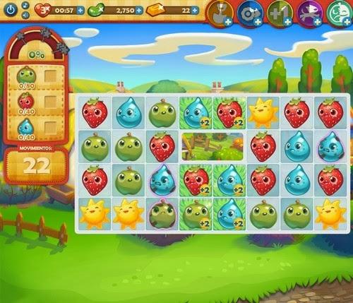 Nivel 119 Farm Heroes Saga