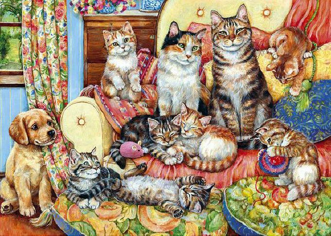 Art Wednesday Cats Cats And More Cats
