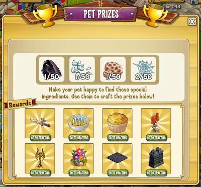 Castleville Pet Prizes