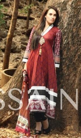 NadiaHussainLawnCollection - Nadia Hussain Lawn 2013 Magazine by Shariq Textiles