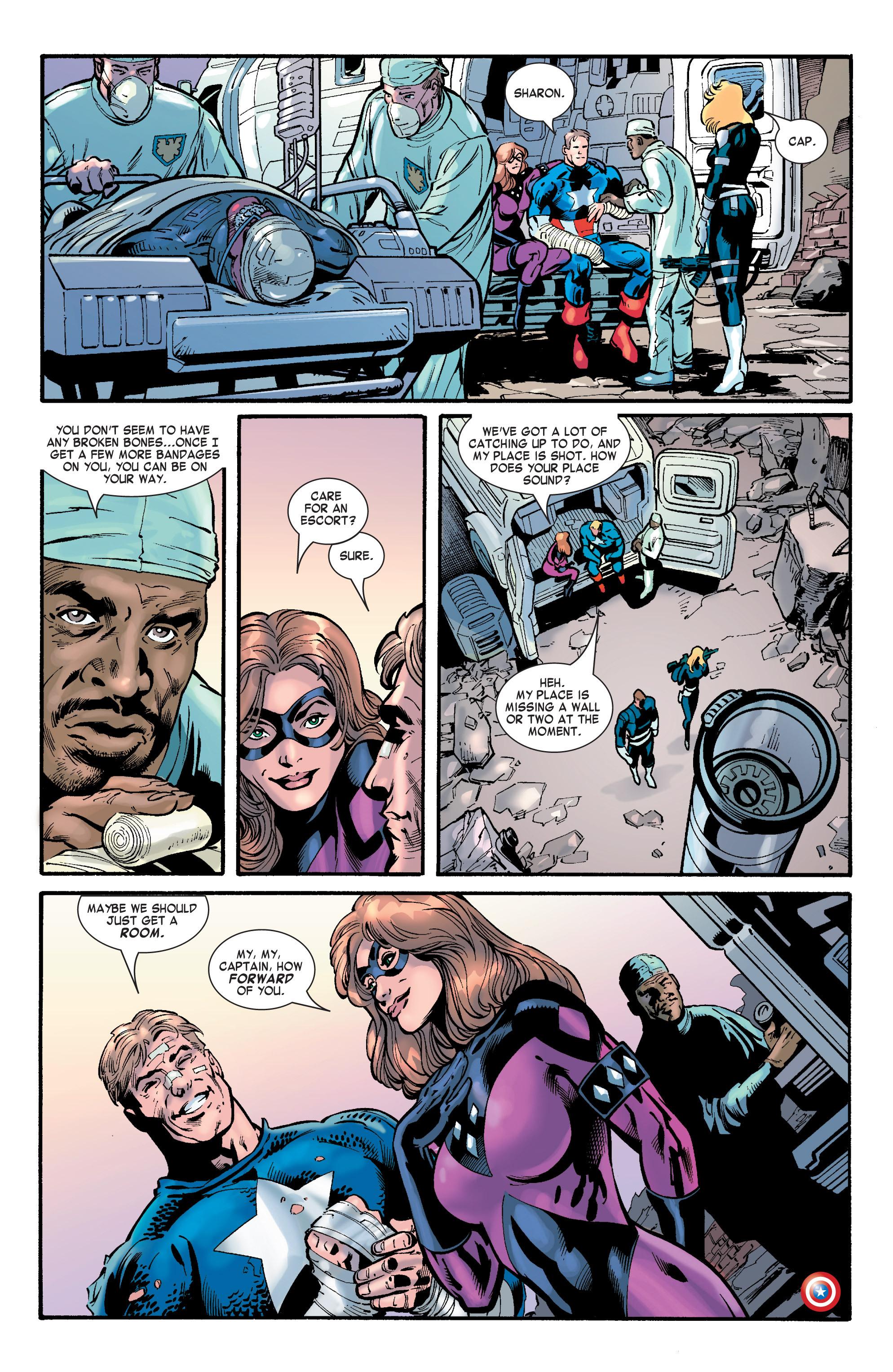 Captain America (2002) Issue #32 #33 - English 24