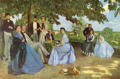 Frederic Bazille - reunion de famille