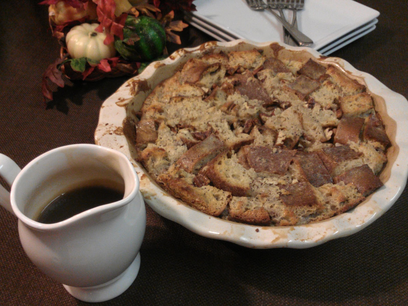 Baker Becky: Bourbon Butterscotch Bread Pudding