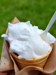 fork on the road - tasty lemon gelato