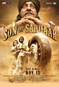 Đứa Con Của Sardaar - Son Of Sardaar (2012) Poster