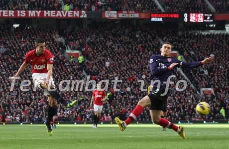 Manchester United VS Arsenal Liga Inggris 3 November 2012