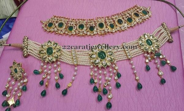 Lavish Pearls Choker
