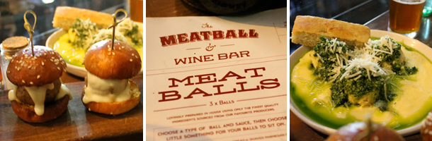 Sweet Monday, Meatballs and Wine Bar, Melbourne