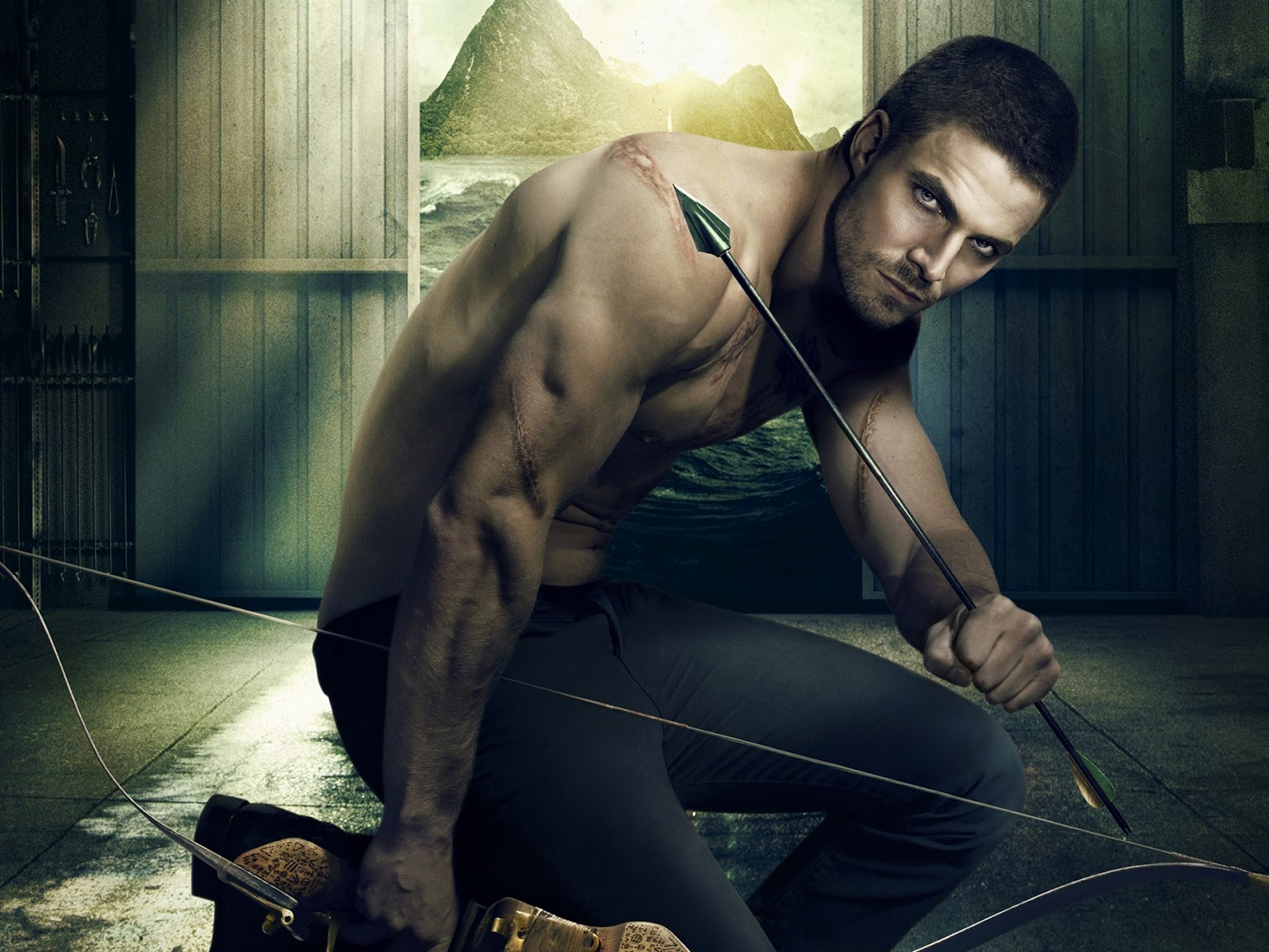 oliver queen green arrow wallpapers - Oliver Queen Green Arrow Wallpapers HD Wallpapers