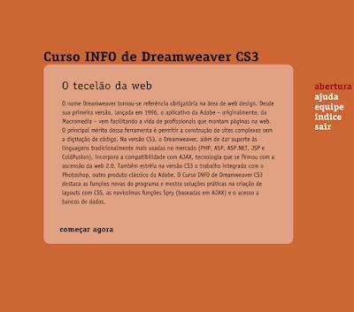 CURSO INFO DE DREAMWEAVER CS3