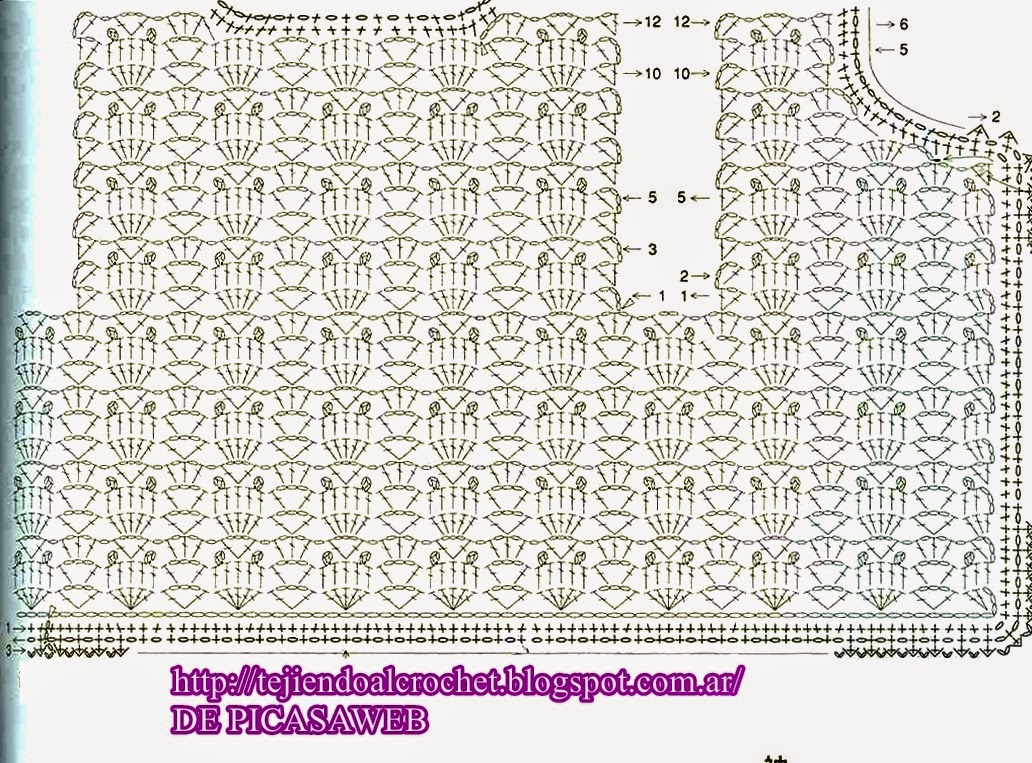 crochet fabric , CROCHET - GANCHILLO - PATRONES - GRAFICOS: April 2015