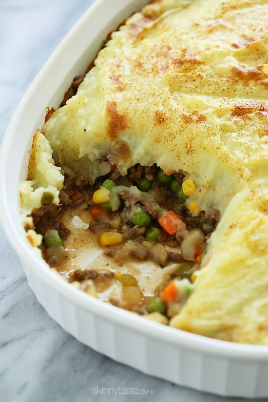 Shepherd's Pie, Lightened Up | Skinnytaste