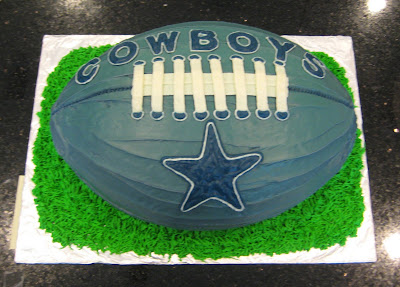 Dallas Cowboys Football Cake 2