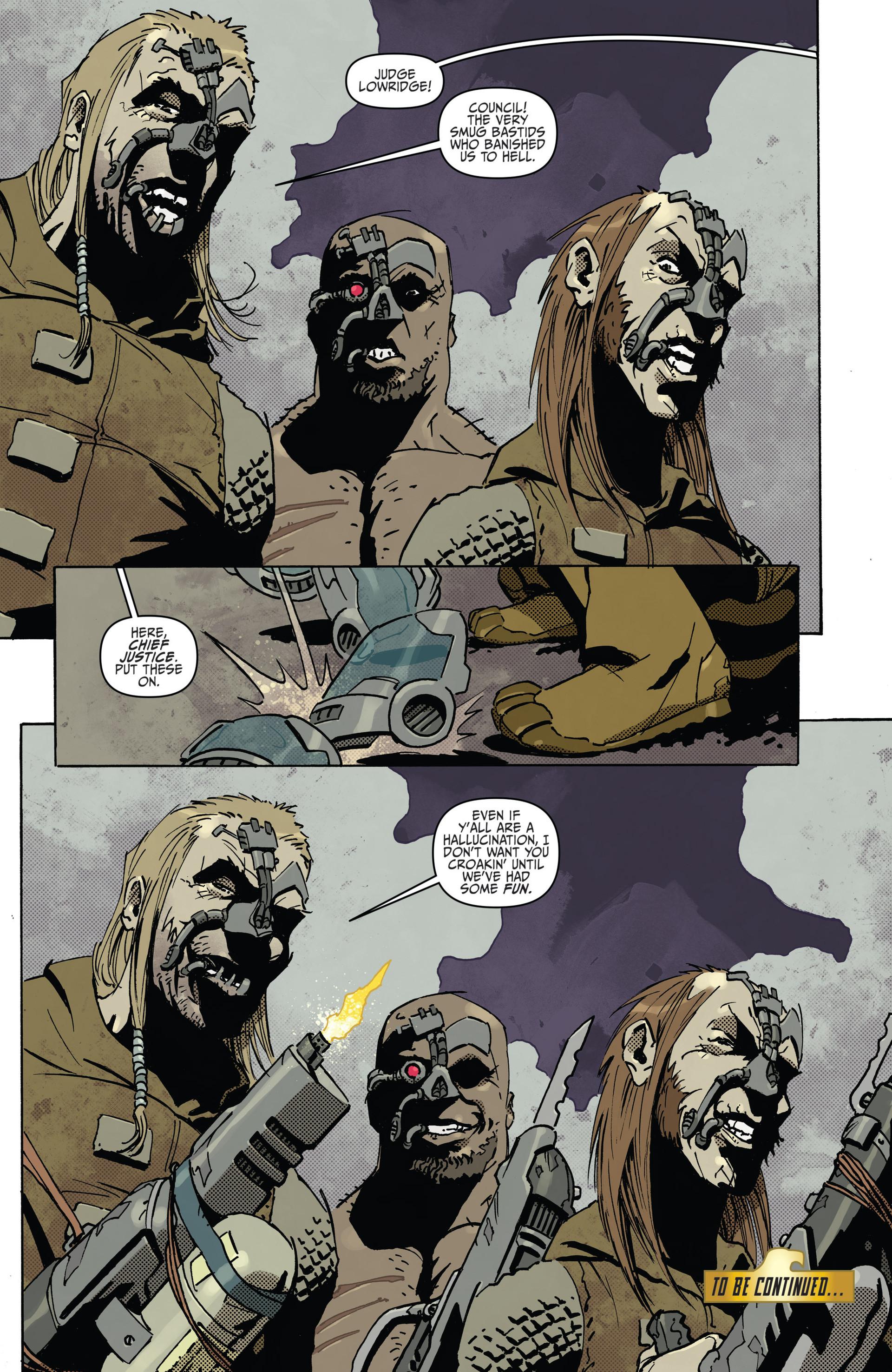 Read online Judge Dredd (2012) comic -  Issue #22 - 22