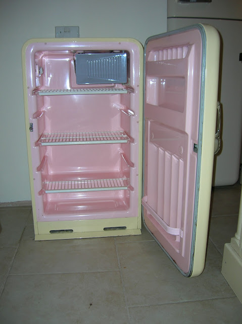 Smeg Refrigerator Inside View Pink surprise inside neverSmeg Refrigerator Inside View