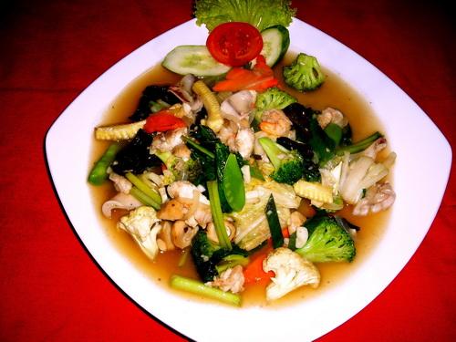 Resep Masakan bunda: Cara Membuat Capcay Seafood Mantap