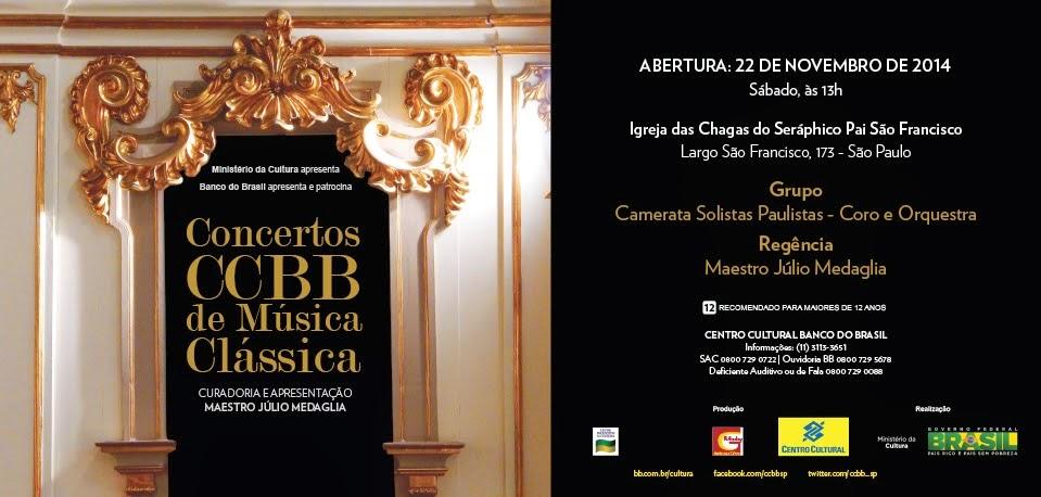 Concertos CCBB de Música Clássica