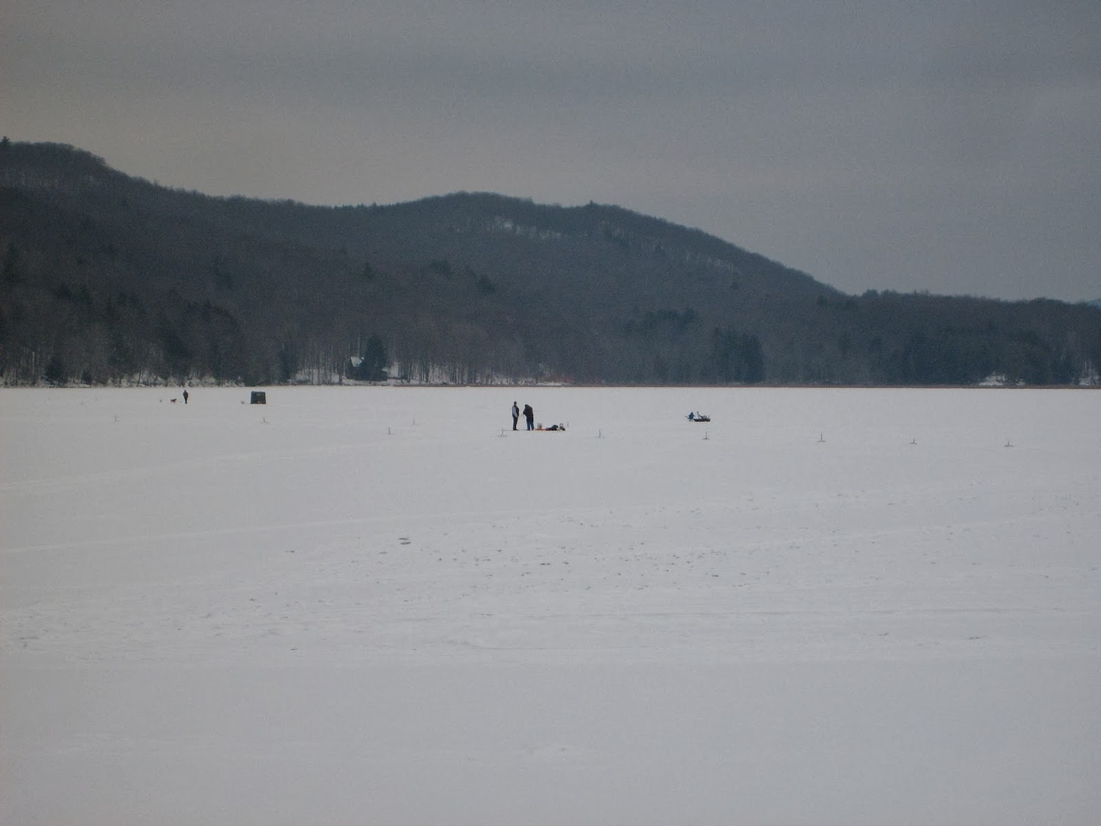Guided Vermont Ice Fishing Trips Vermont Ice Fishing Has