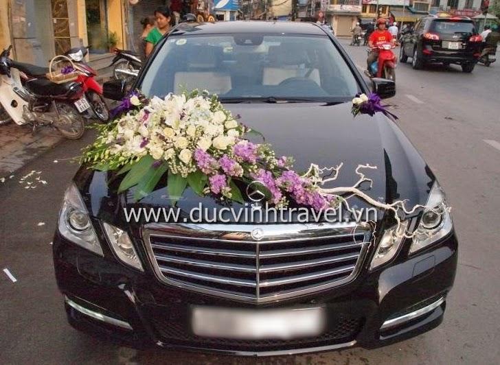 Cho thuê xe cưới Mercedes E250 hạng sang 2