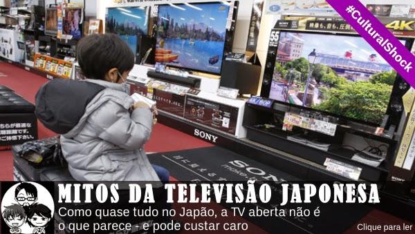 Pocket Hobby - www.pockethobby.com - #CulturalShock - Mitos da Televisão Japonesa.