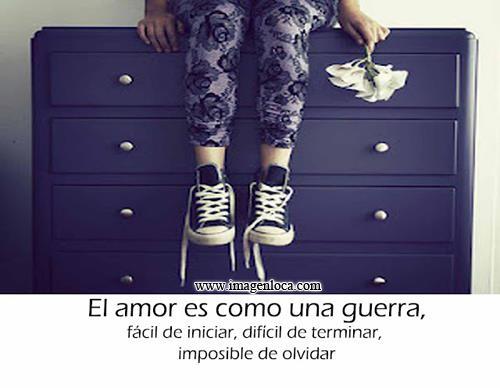 Imagen El Amor No Es Una Guerra