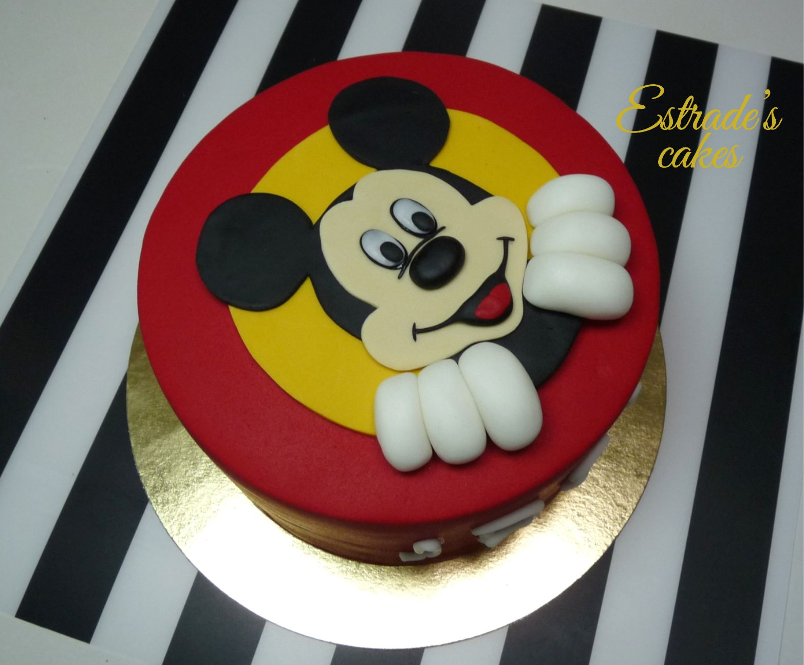 tarta Mickey Mouse - 3