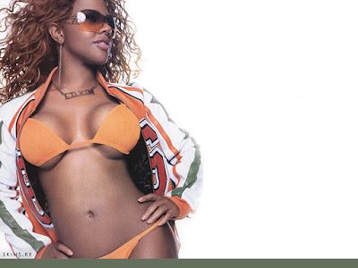 Lil Kim Bikini Wallpaper