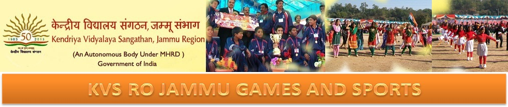 KVS JAMMU REGION GAMES AND SPORTS