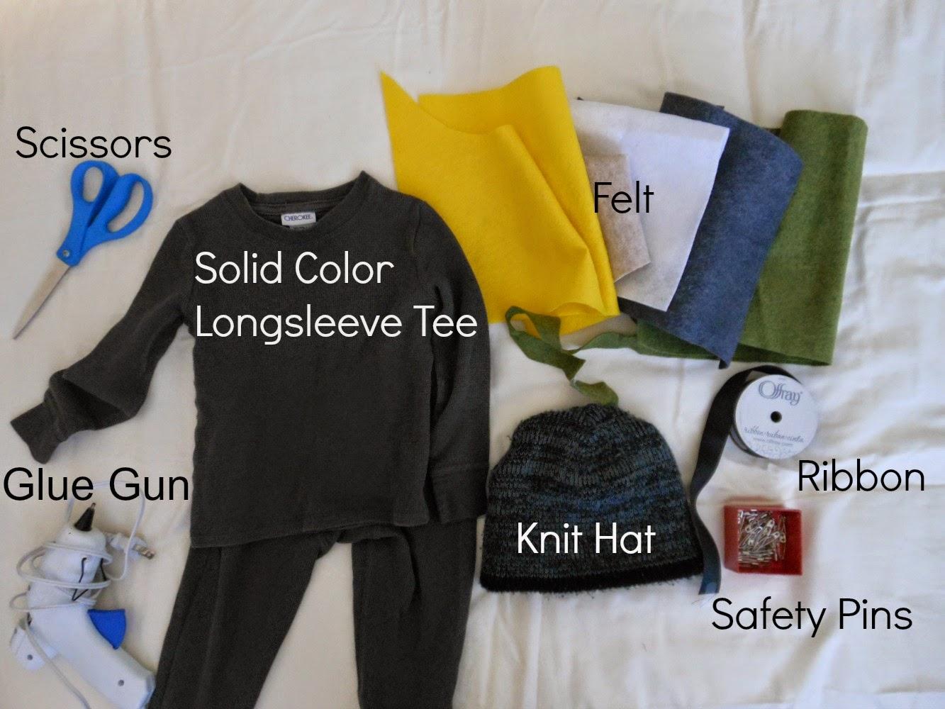 no sew costume supplies