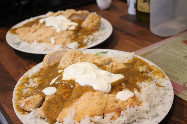 Slimming World Chicken Katsu Curry