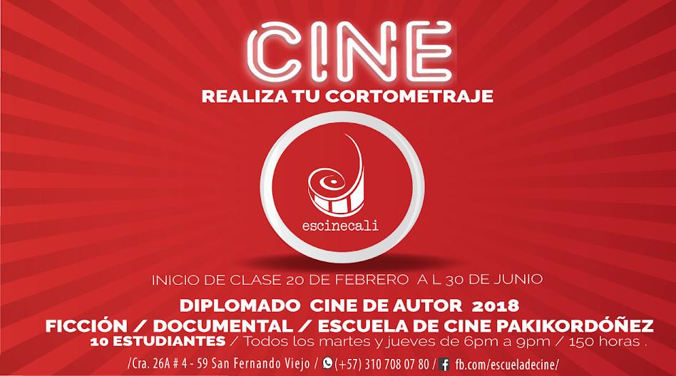 CALI. Escuela de Cine PakikOrdóñez. Patrimonio del Cine en Colombia.