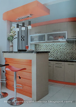Toko Flamboyant Kitchen Set Mini Bar Pantry Kamar Set